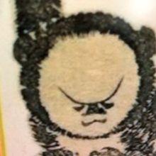 サルを書いたもの 漫画みたいでしょ