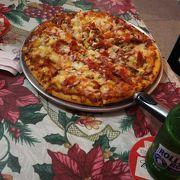 ピザが大きい‼️
