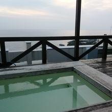 屋上の露天風呂