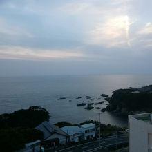 露天風呂から眺める太平洋