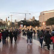 バルセロナの中心