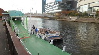 水の都の水上バス