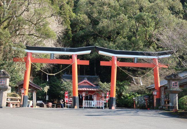 諏訪神社並立鳥居
