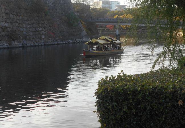 天下一の黄金の和船大阪城御座船