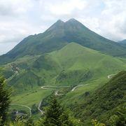 双耳峰がかっこいい湯布院のシンボル的な山