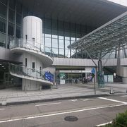 金沢駅前のコンサートホール
