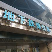 地下鉄に関する博物館