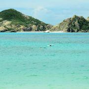 これぞ、沖縄の海
