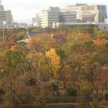 大阪城西の丸公園の建築物