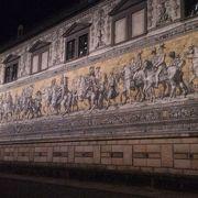 長い長い壁画