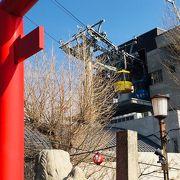 標高わずか290メートルながら徳島市のシンボル的存在です