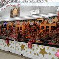 写真:シャンゼリゼ通りのクリスマスマーケット (マルシェ ド ノエル)