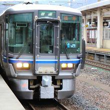 福井行きの電車