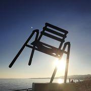 椅子のオブジェ