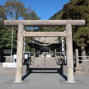 歴代 薩摩藩主と亀寿姫を祀る神社。