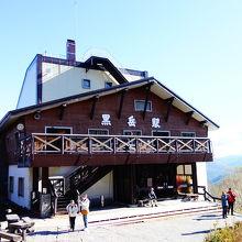5合目の駅舎