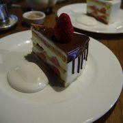 古民家できれいな美味しいケーキ