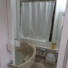 洗い場が狭い