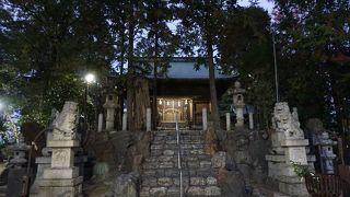 新溝神社 (新溝古墳)