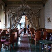 エリザベート皇后所縁のカフェ ♪
