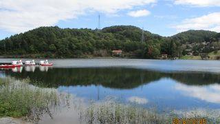 聖湖(長野県麻績村)