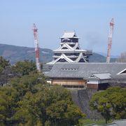 熊本城のビュースポットです