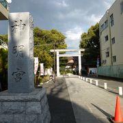 阿佐ヶ谷駅の近くです