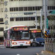 便利な交通手段