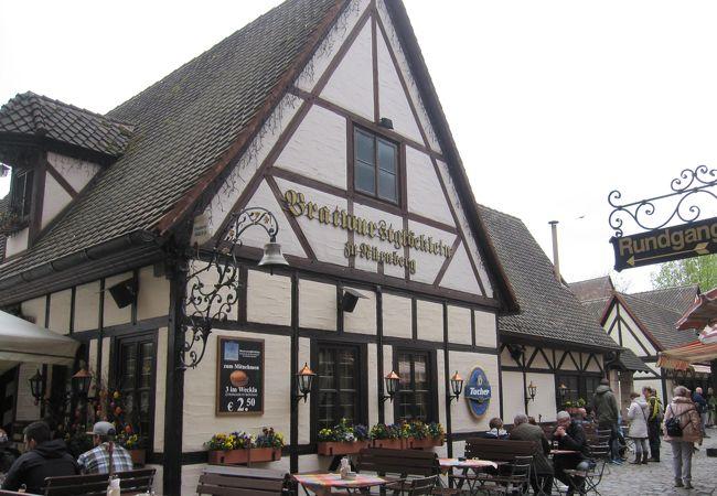 可愛い中世の町