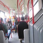 バスが一番便利