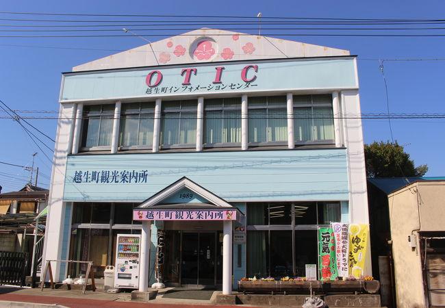 越生観光案内所 OTIC (オーティック)
