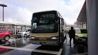 釧路市内行きと空港行きではルートが異なります