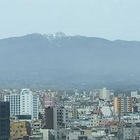 ハルラ山が見える