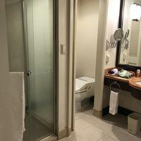 トイレ、シャワー、バスタブは独立だが 入口は一つ