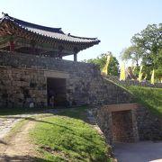よく整備された城跡