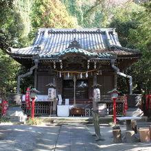 八雲神社拝殿