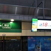 松山慈祐宮、饒河街觀光夜市の最寄り駅