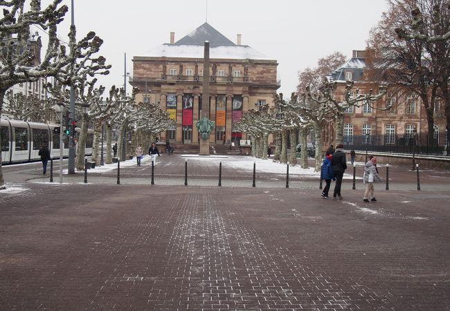 冬場の景観