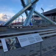 バンクーバー冬季オリンピックの聖火台を見ました!!