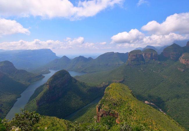 南アフリカ 世界第3位の緑あふれる大渓谷 ~ブライデリバーキャニオン~