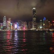 フェリーで香港の今を眺める。