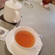 ランチ後のお茶に利用
