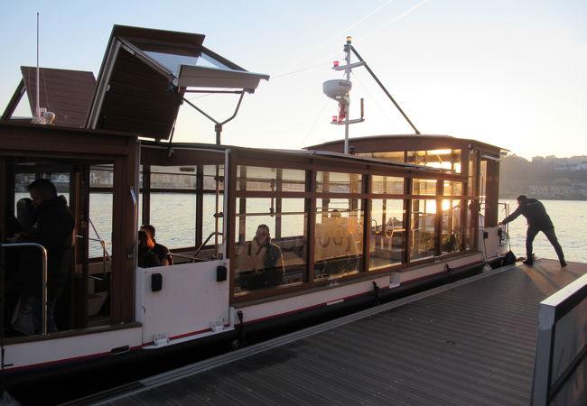 ドウロ川水上タクシー