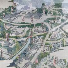 泉涌寺と今熊野観音寺の案内板です