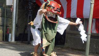 仙石原湯立獅子舞