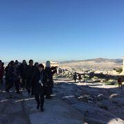 遺跡は大したことないですがアテネ市街がぐるっと展望できました