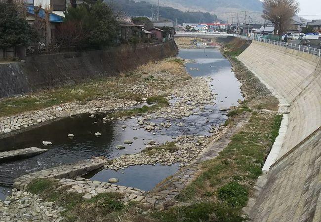 香川県を流れる