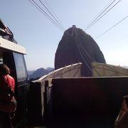 リオの景色が一望できました。