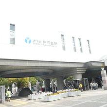 仲町台駅の駅舎