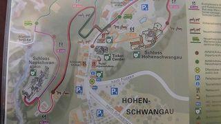 ノイシュヴァンシュタイン城とホーエンシュヴァンガウ城は、ガイドツアーでないと入城できません